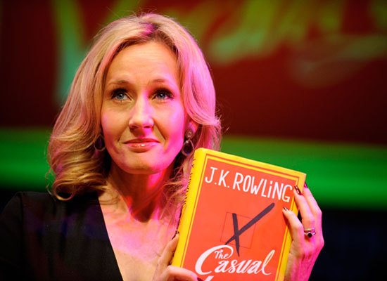 Joanne Rowling, the author who whipped up the magical world of Harry Potter, was asked by her publisher to use only her initi