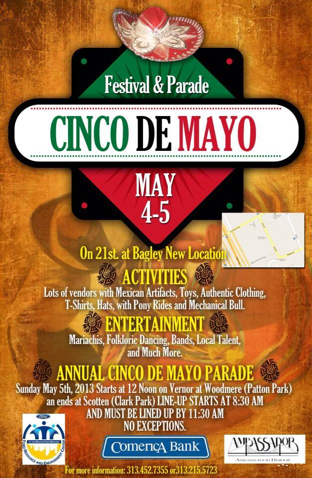 The Cinco De Mayo Parade is a tradition in Southwest Detroit. This year it sets out at noon on Sunday, May 5, at Woodmere and