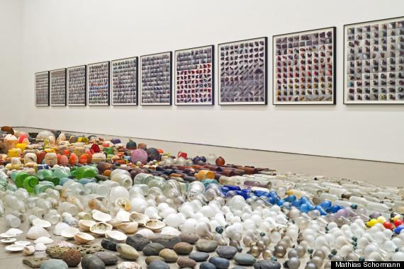 """Gabriel Orozco, """"Sandstars"""", 2012. Gabriel Orozco: Asterisms, Deutsche Guggenheim, Berlin, July 6–Oct. 21, 2012. © 2012 Gabri"""