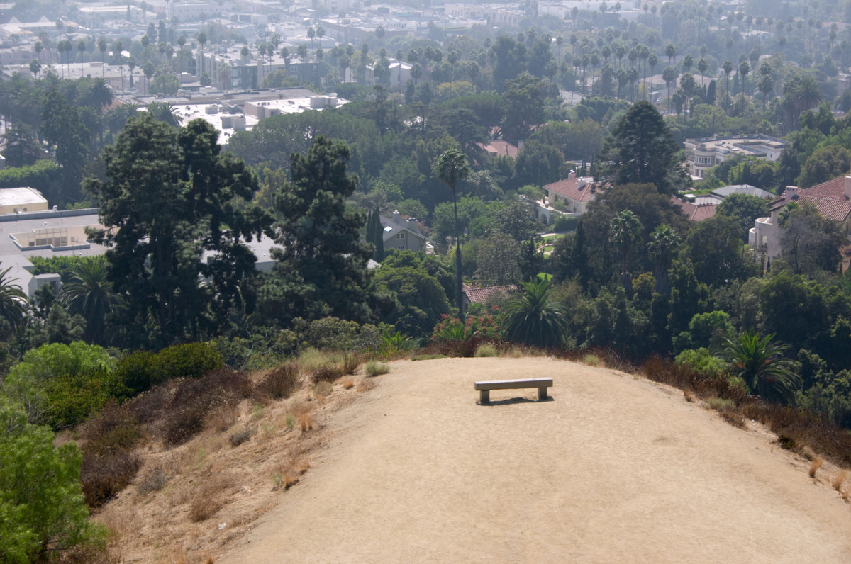 This gorgeous park is located in the heart of the Hollywood Hills, offering amazing views of Los Angeles — as well as high po
