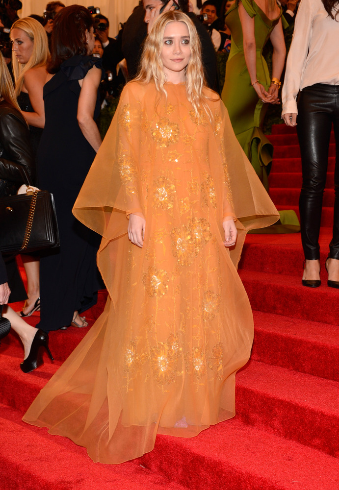 NEW YORK, NY - MAY 06:  Ashley Olsen  attends the Costume Institute Gala for the 'PUNK: Chaos to Couture' exhibition at the M