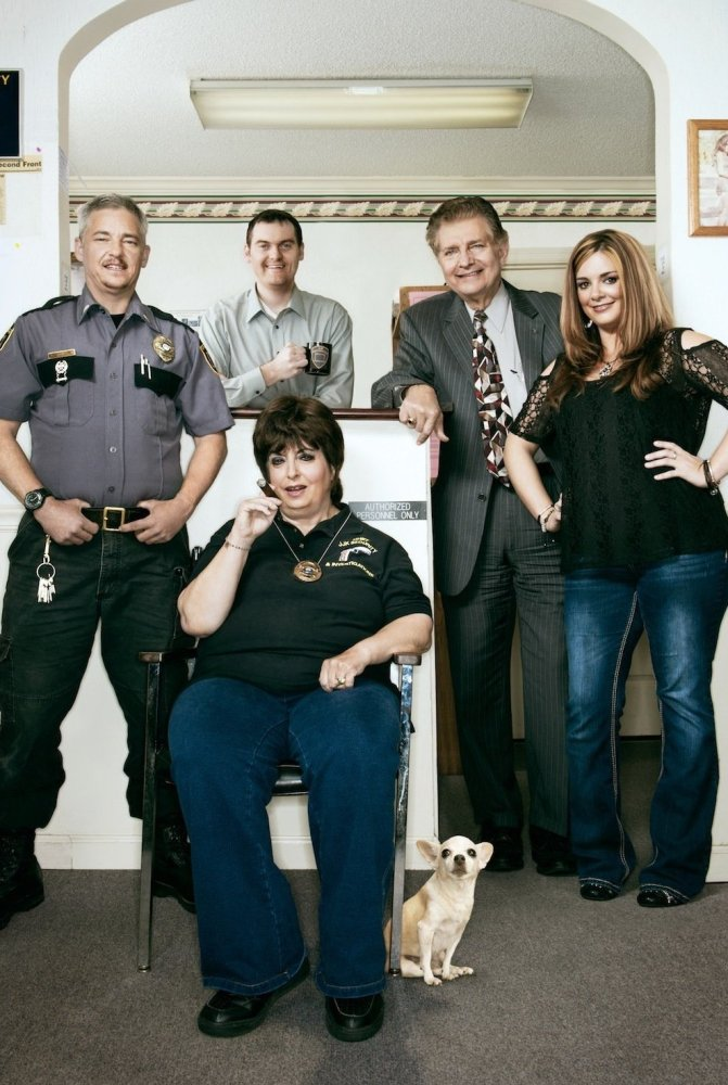 "Joan Koplan (center) takes on another set of dilemmas in the new season of AMC's surprise hit, <em><a href=""http://www.amctv."