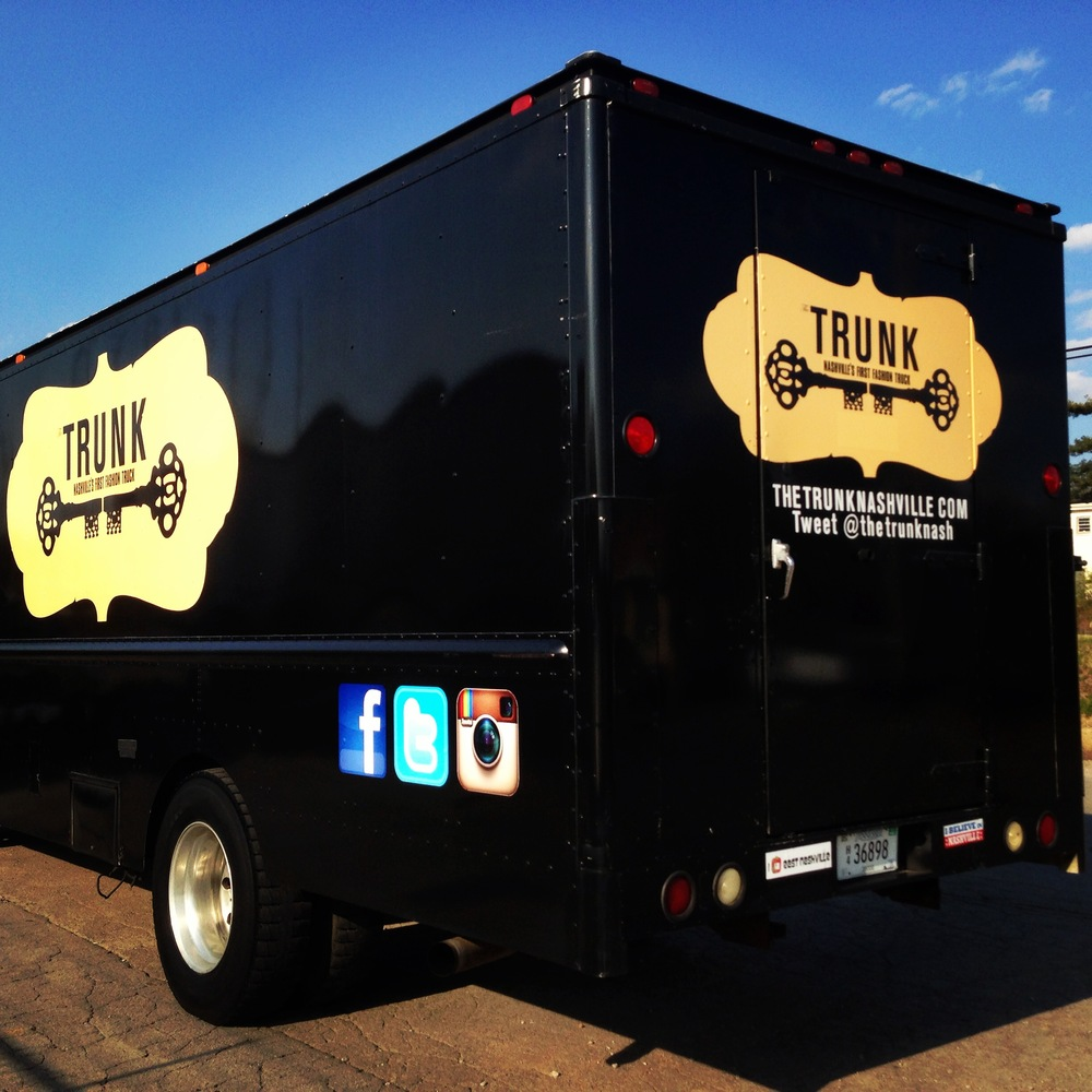 The Music City's first fashion truck, Trunk Nashville, was Abby's brain child. Shoppers can find everything from inexpensive