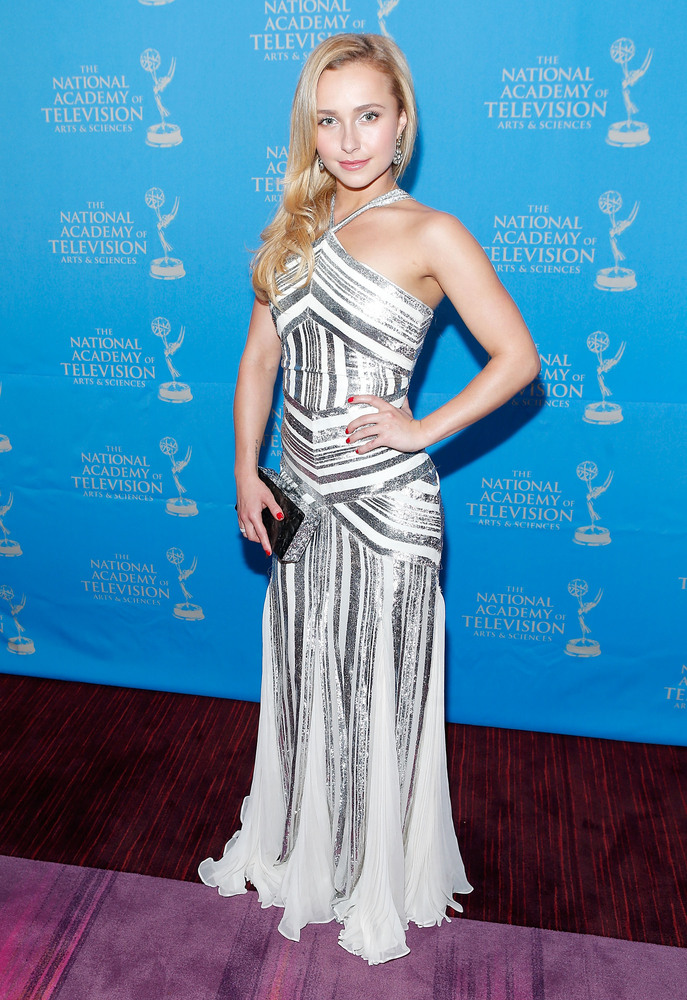 Actress/model Hayden Panettiere attends the 34th Annual Sports Emmy Awards Reception at Frederick P. Rose Hall, Jazz at Linco