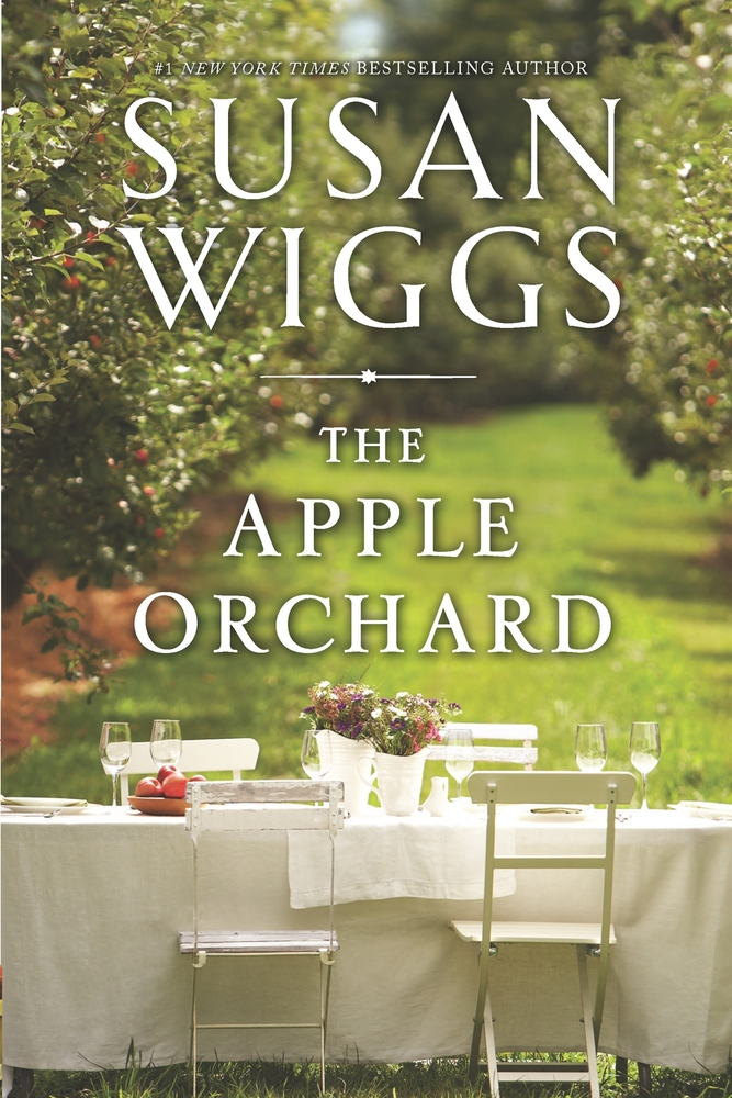 Susan Wiggs' <em>The Apple Orchard</em>:  Antiques treasure hunter Tess Delaney lives a high-octane existence and is on the c