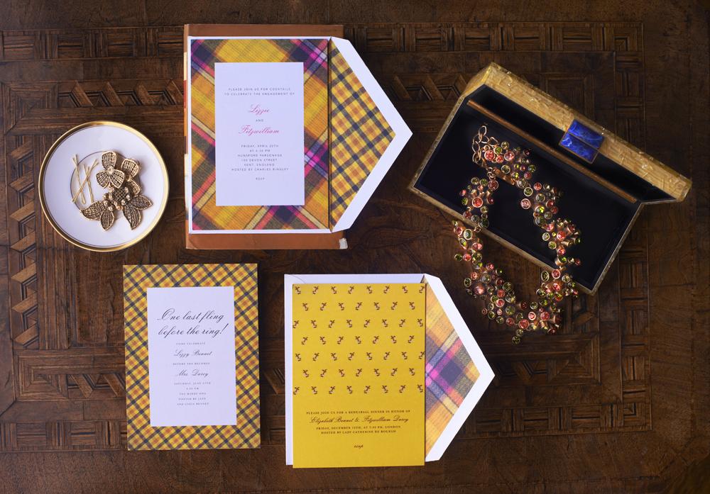 oscar de la renta wedding invitations designer launches stationery collection on paperless post. Black Bedroom Furniture Sets. Home Design Ideas