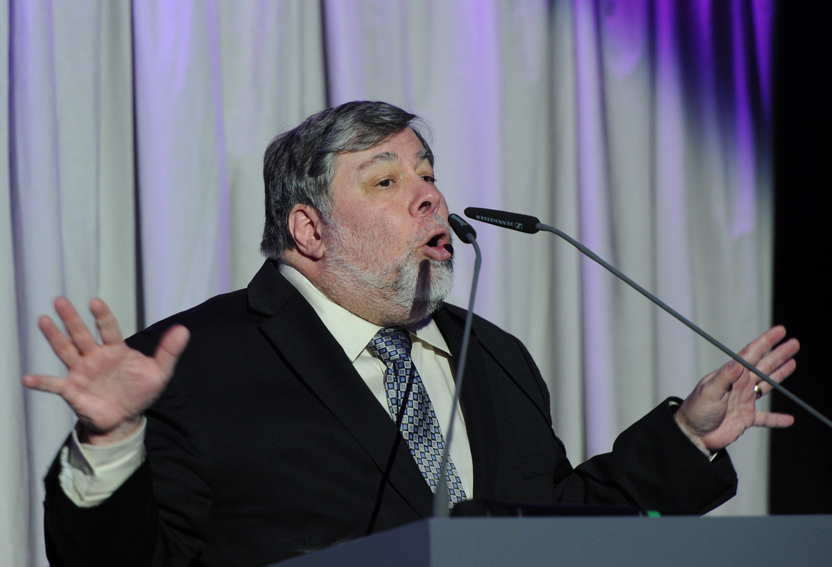 "Steven Wozniak, co-founder of Apple Inc., will speak at the University of California, Berkeley<a href=""http://www.dailycal.or"