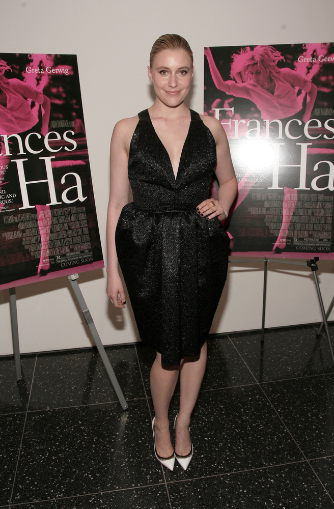 "Actress Greta Gerwig attends the premiere of ""Frances Ha"" on Thursday, May 9, 2013, in New York. (Photo by Andy Kropa/Invisio"