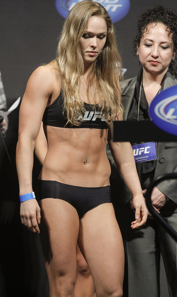 This Hot ronda rousey maxim really