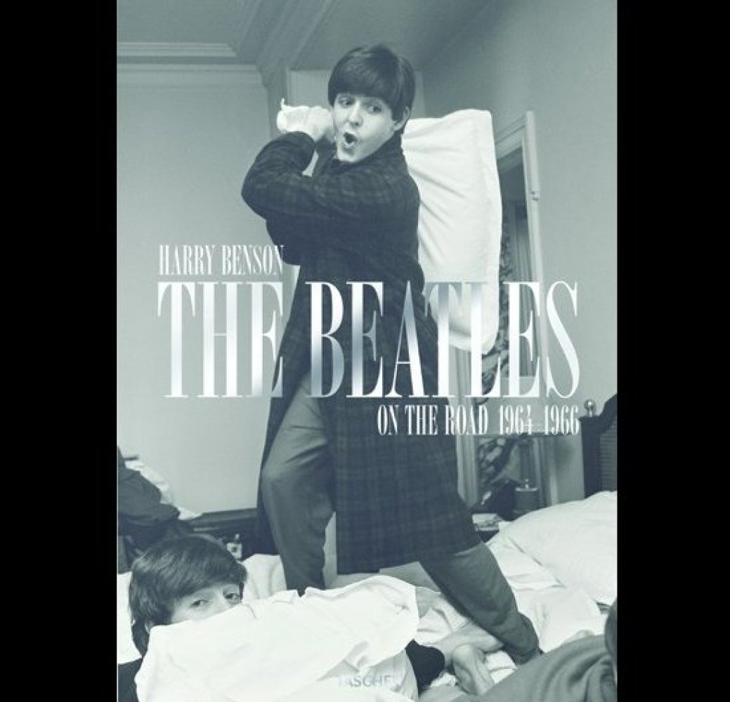 Book jacket: Harry Benson,<em> The Beatles: On the Road 1964-1966</em> (published by TASCHEN), photograph copyright Harry Ben