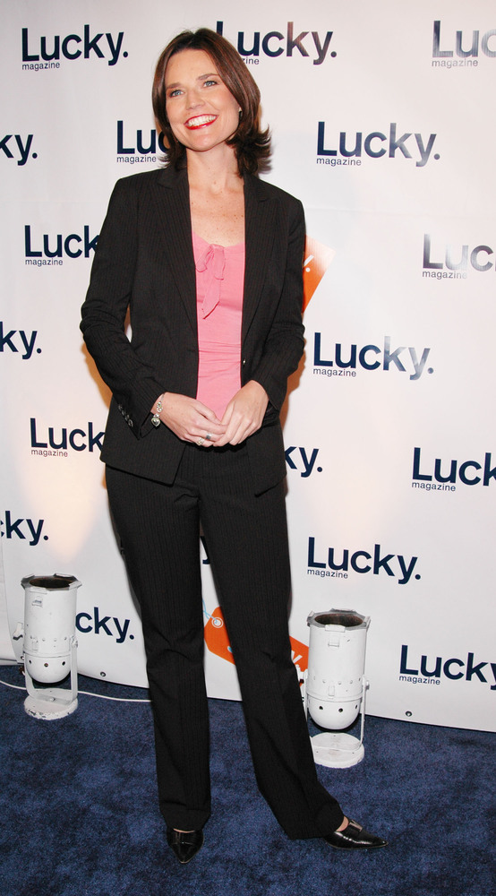 NEW YORK - NOVEMBER 18:  Court TV correspondent Savannah Guthrie attends Lucky Magazine's VIP Preview to benefit the Robin Ho