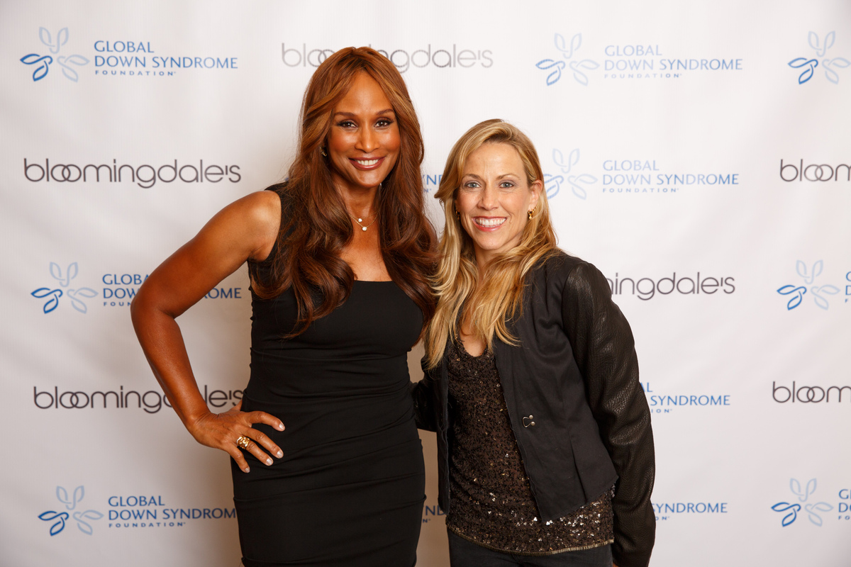 Supermodel and businesswoman Beverly Johnson and singer Sheryl Crow both participated in the Global Down Syndrome Foundation