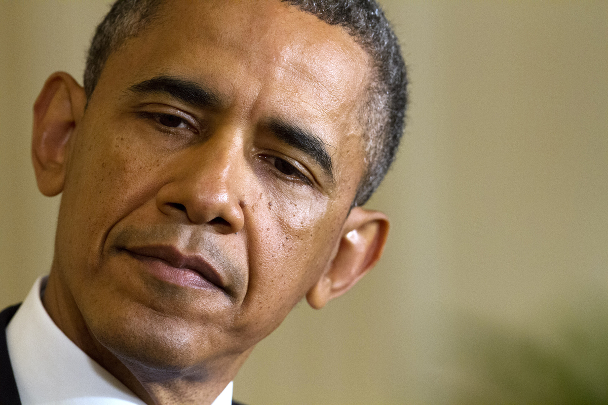 """This is pretty straightforward,"" Obama said at a <a href=""http://www.huffingtonpost.com/2013/05/13/obama-irs-scandal_n_32665"