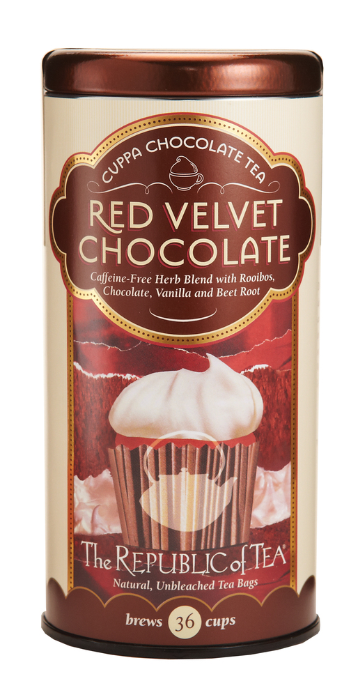 It sounds too good to be true: How could a cup of tea even remotely resemble a slice of red velvet cake? But believe us when