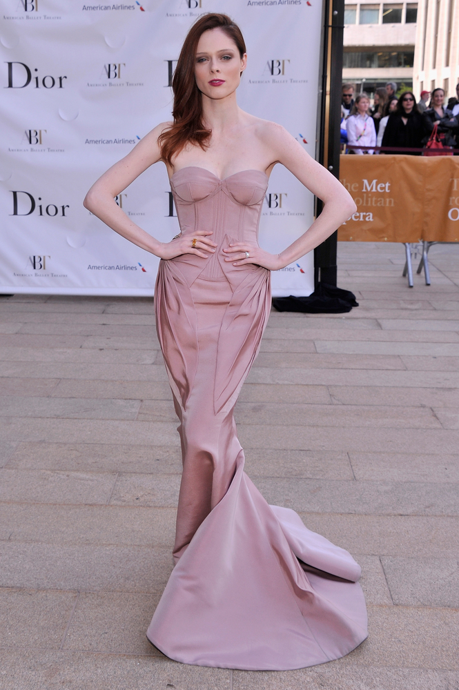 Coco Rocha at the American Ballet Theatre opening night Spring Gala in New York on May 13.