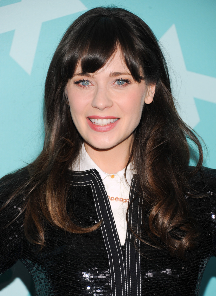 To be worn at brunch or at the Fox upfront (which is where Zooey wore this style).