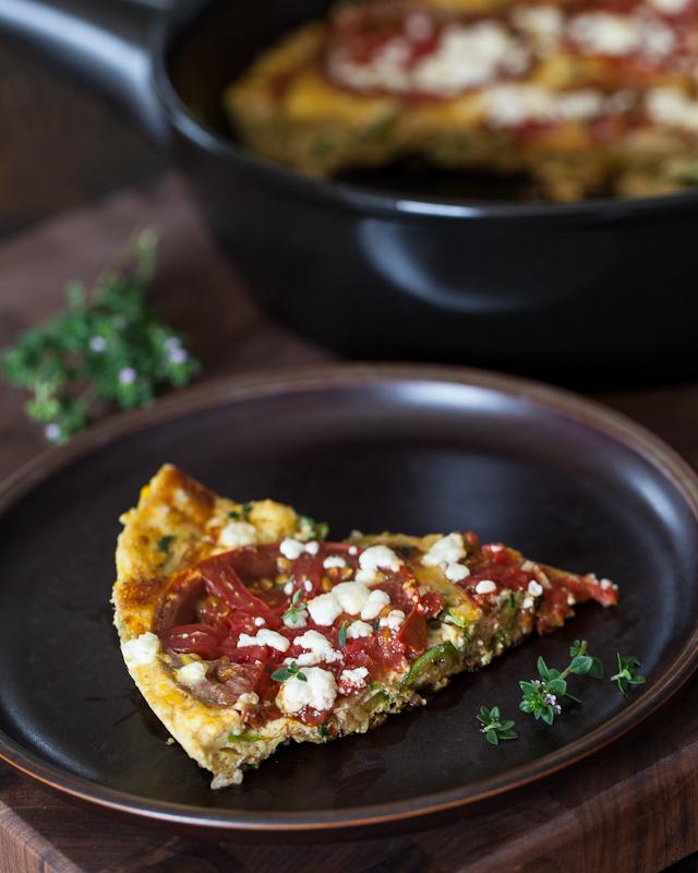"<strong>Get the <a href=""http://www.steamykitchen.com/21513-zucchini-frittata-recipe.html"" target=""_blank"">Zucchini Frittata"