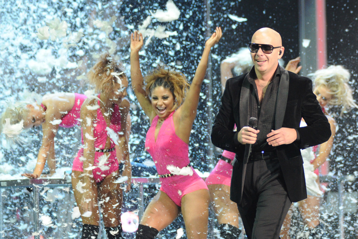 """Pitbull is scheduled to perform at the<a href=""""http://www.preakness.com/visitors-guide/events/11/InfieldFest"""" target=""""_blank"""""""