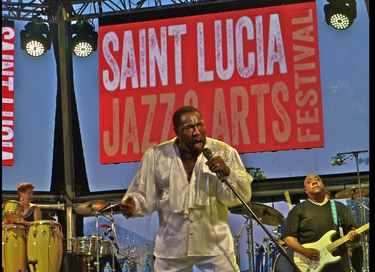 Eddie Levert and The Ojays brought classic soul music to the 23rd annual Saint Lucia Jazz & Arts Festival. Everybody got on t