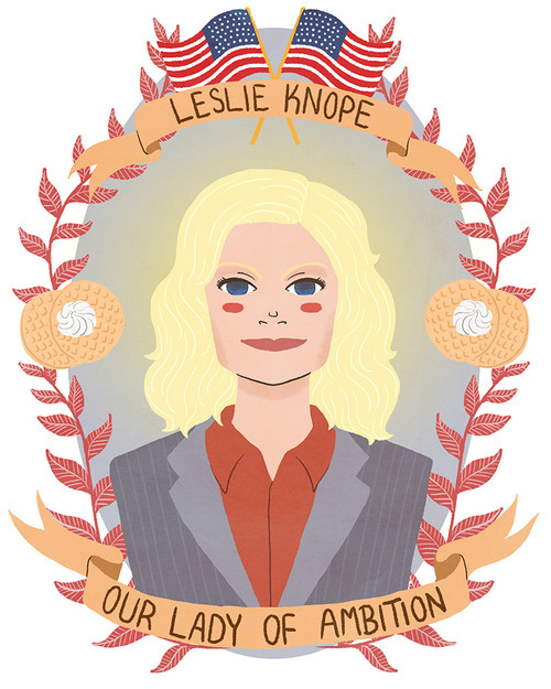 "Leslie Knope from ""Parks and Recreation"""