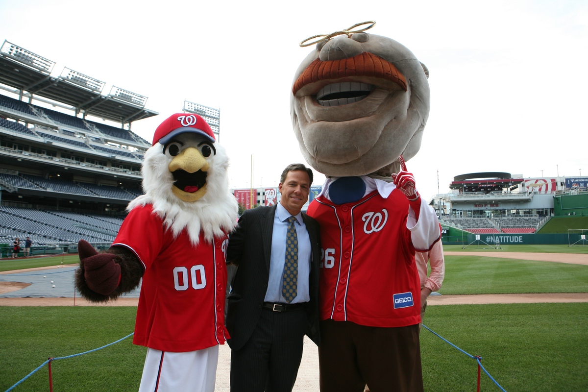 CNN's Jake Tapper with Teddy and Screech