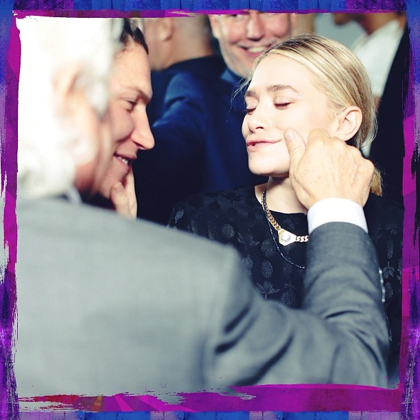#AshleyOlsen being adorable at the @abyrosen birthday bash - photo by @dxprutting - #TeamBFA MG. (@bfa_nyc)
