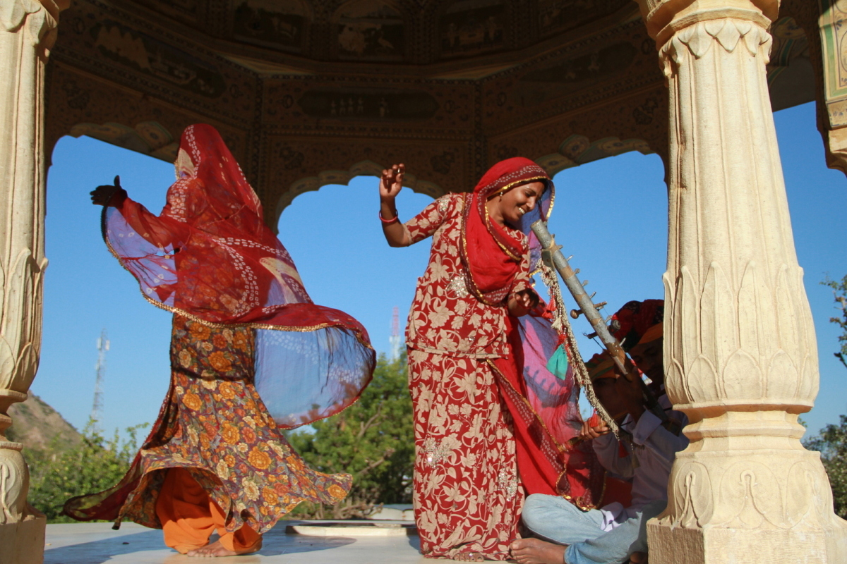 Samode Village is just outside of Jaipur. Its lively music and dance represents just one of the many cultures that make up In