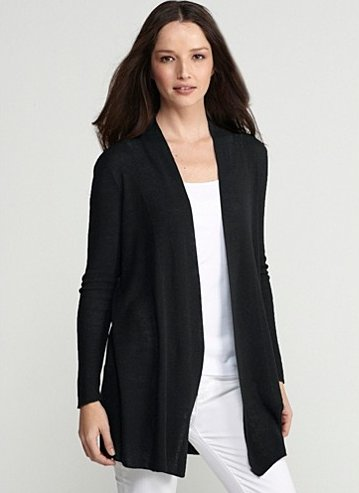 """Available at <a href=""""http://www.eileenfisher.com/EileenFisher/collection/ShopByCategory/Sweaters_and_Cardigans/Cardigans/PRD"""
