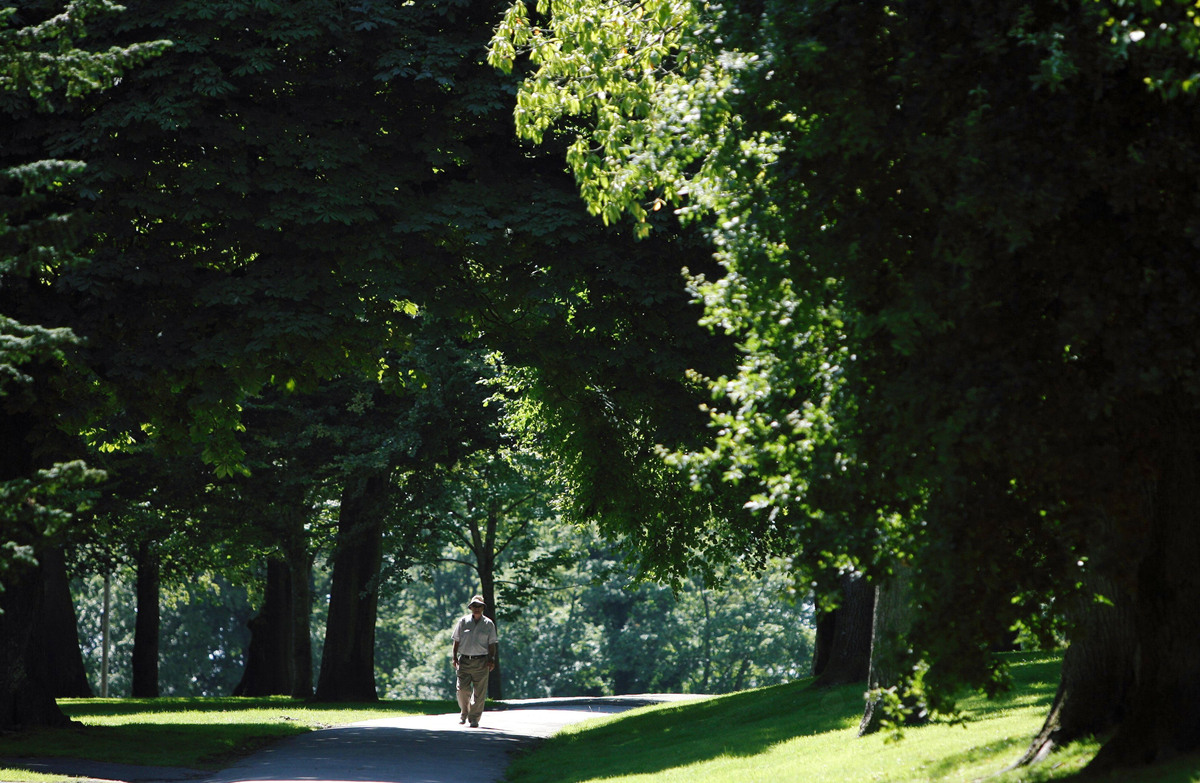 "Taking a 30-minute stroll through the park can shift your mind into a state of zen. <a href=""http://www.huffingtonpost.com/20"