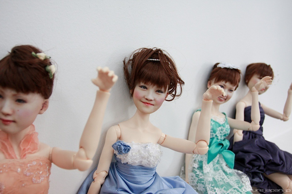 """Custom 3-D printed female dolls are shown in this photo provided by <a href=""""http://www.dannychoo.com/post/en/26119/Human+Clo"""