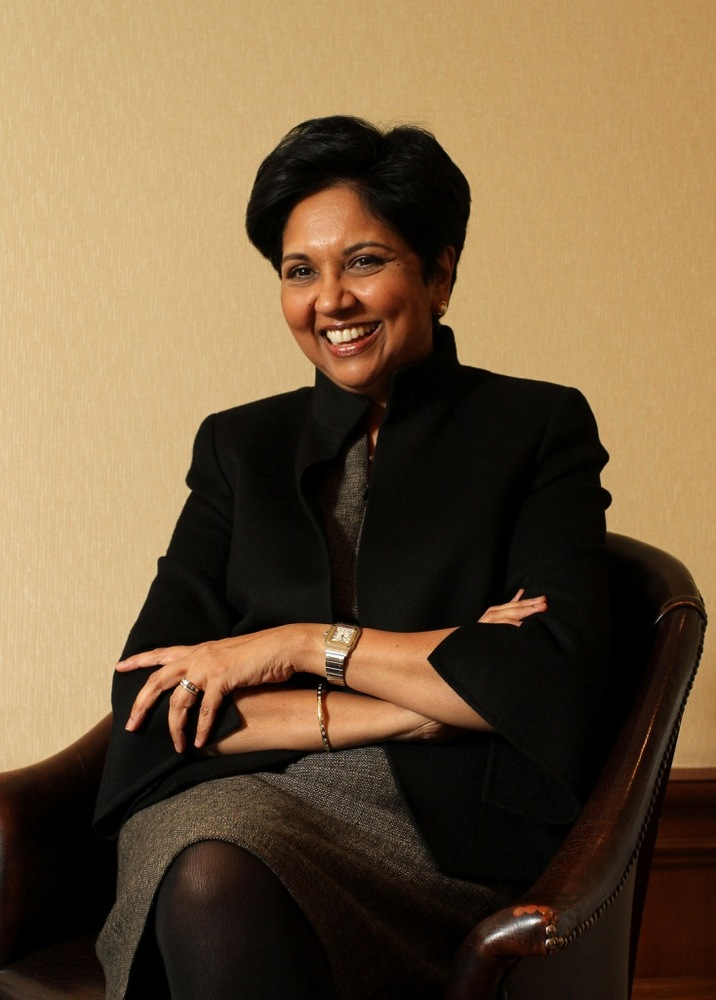 Nooyi has been busy pushing changes through PepsiCo this year. For starters, she boosted quarterly results -- revenue jumped