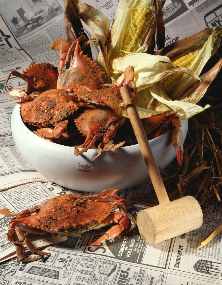 "One of Washingtonians' favorite summer foods is Maryland crab. Eat your fill at <a href=""http://www.policydc.com/"" target=""_b"