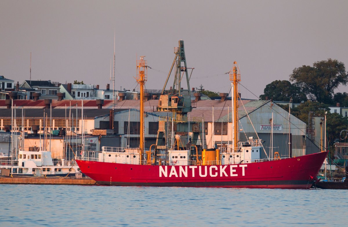 """Don't miss the opportunity to tour the """"Statue of Liberty of the Sea.""""  The Nantucket lightship, the largest U.S. lightship,"""