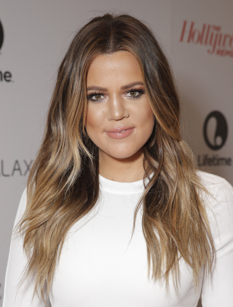 Khloe Kardashian arrives at The Hollywood Reporter's celebration of power 100 women in entertainment breakfast on Wednesday,