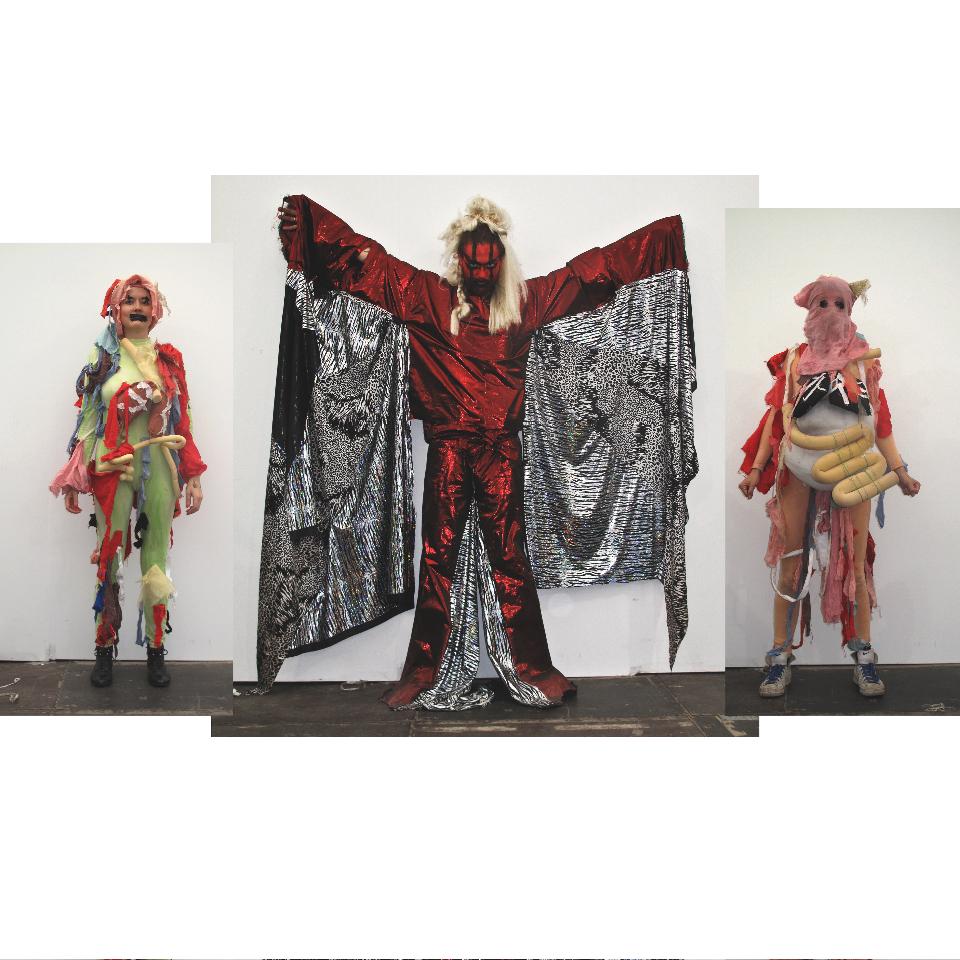 Spartacus Chetwynd, 'A Tax Haven Run By Women', Frieze Projects, Frieze Art Fair, 14 to 17 October 2010. Photo: Dennis van Do