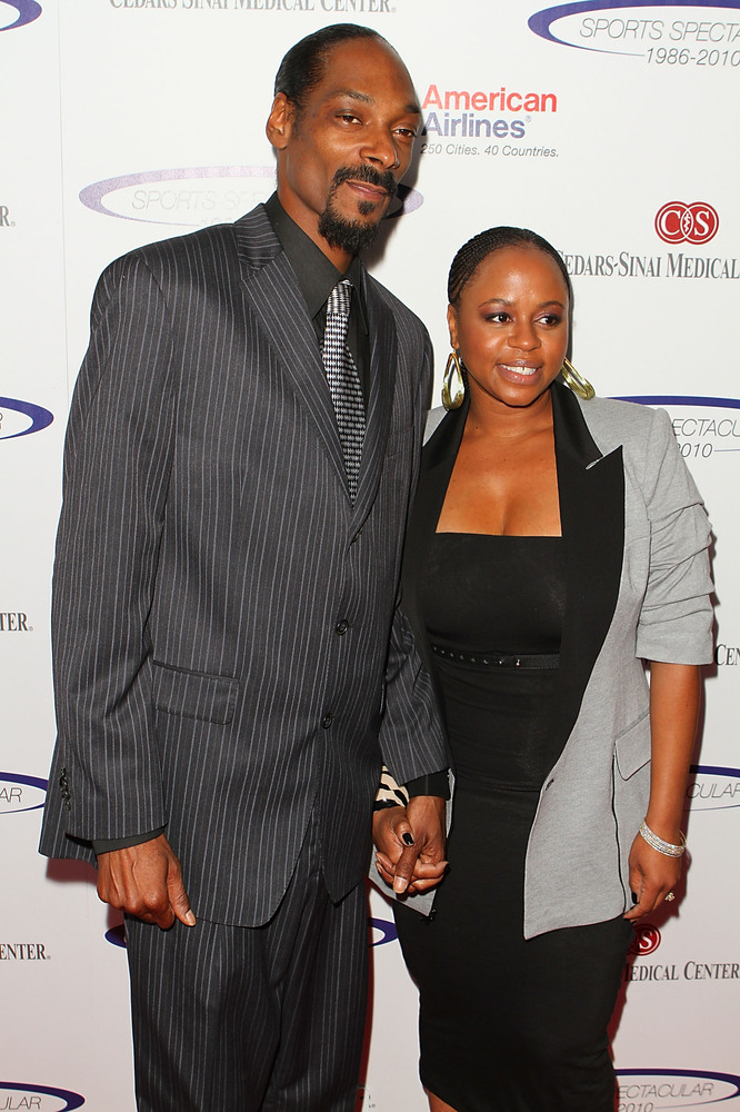 "Snoop Dogg and wife Shante Taylor were classmates at <a href=""http://www.hollywoodreporter.com/news/snoop-dogg-reincarnated-p"