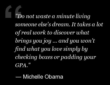 """Last Saturday, <a href=""""http://www.huffingtonpost.com/2013/05/19/michelle-obama-commencement_n_3302823.html"""" target=""""_blank"""">"""
