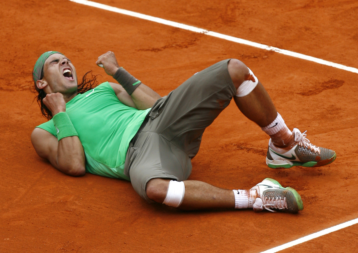 Nadal: 7 French Open Titles  Next: Bjorn Borg was the previous record holder with 6 French Open titles.