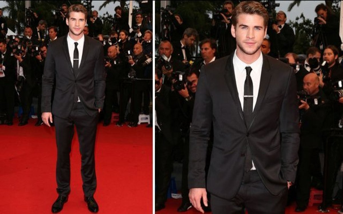 <strong>Liam Hemsworth</strong> Liam Hemsworth looked incredibly dapper wearing head-to-toe Dolce & Gabbana when he hit the