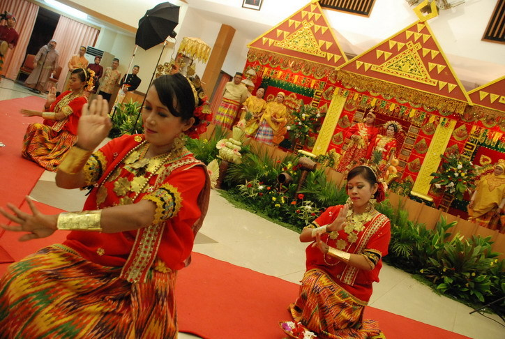 """This is Bugisnesse traditional wedding, from South Sulawesi, Indonesia."" - Andi Ulfa"