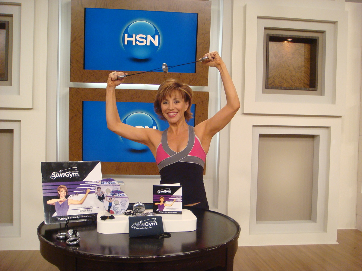 On January 4, 2010, HSN debuted SpinGym. Since then, Forbes has sold more than 360,000 units on the network, including $1.5 m