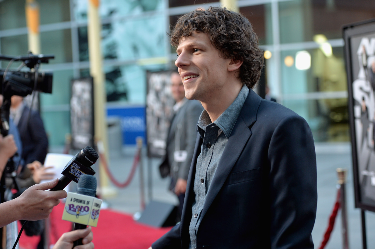 HOLLYWOOD, CA - MAY 23:  Actor Jesse Eisenberg attends a special screening of Summit Entertainment's 'Now You See Me' at the