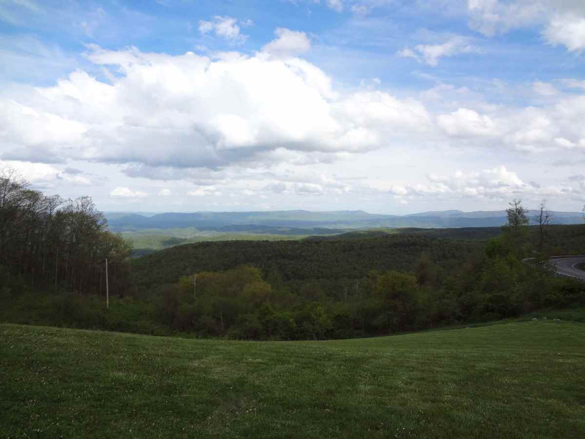 A view of the Appalachian Mountains
