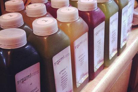"The slogan at <a href=""http://www.partyearth.com/los-angeles/restaurants/pressed-juicery-westwood-2/"" target=""_blank"">Pressed"