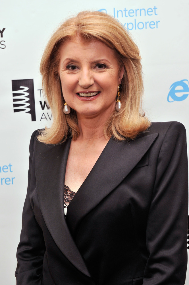 """<a href=""""http://www.huffingtonpost.com/arianna-huffington/"""" target=""""_blank"""">Arianna Huffington</a>, President And Editor-In-C"""