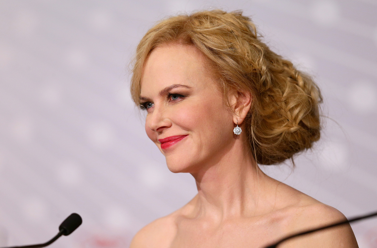 The Cannes Film Festival went out with a bang thanks to Kidman's insane updo. We have never seen anything like it -- her hair