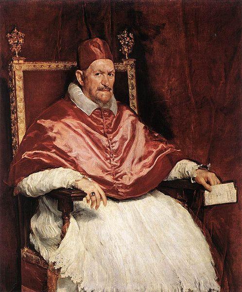 Portrait of Pope Innocent X, 1650