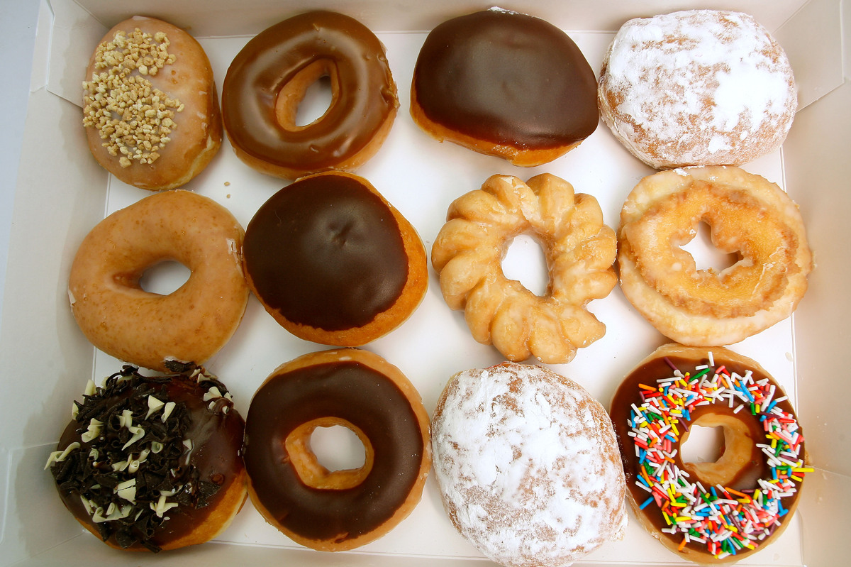 Krispy Kreme celebrates National Doughnut day with a free doughnut for visitors at every location, no purchase necessary. <a