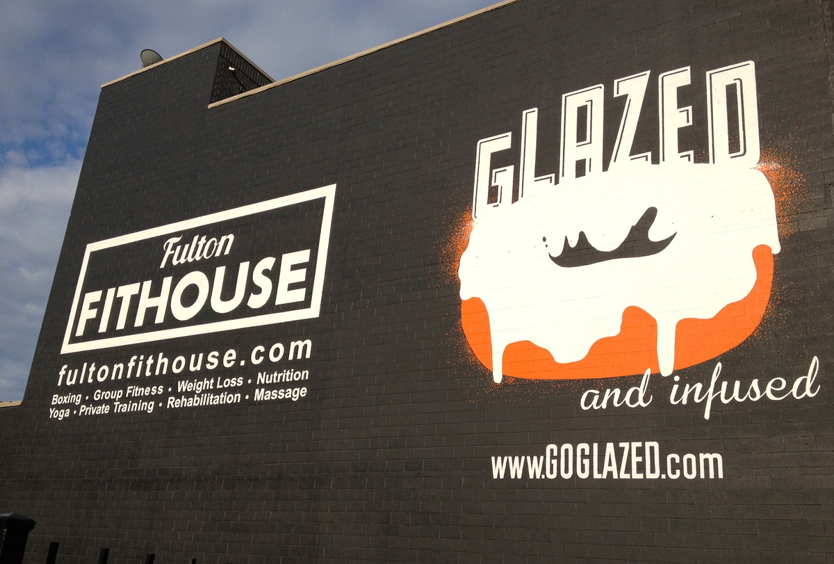 All Glazed & Infused creations are made in their flagship location in the West Loop (ironically, next door to a gym).