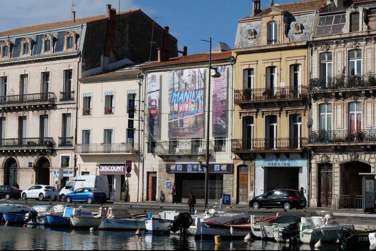 MIAM (Musée International des Arts Modestes) in Sète, southern France.